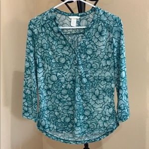 H&M size XS blouse NEVER WORN